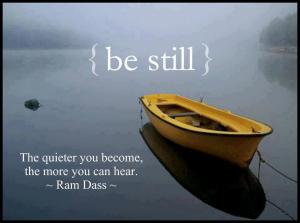 Be-still...