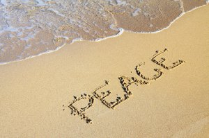 peace-in-sand