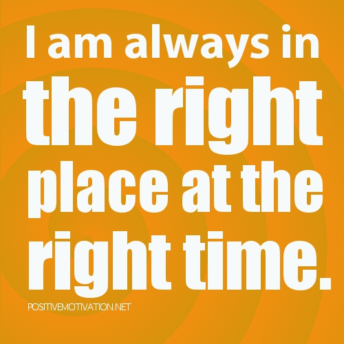 Affirmations-for-children.-I-am-always-in-the-right-place-at-the-right-time