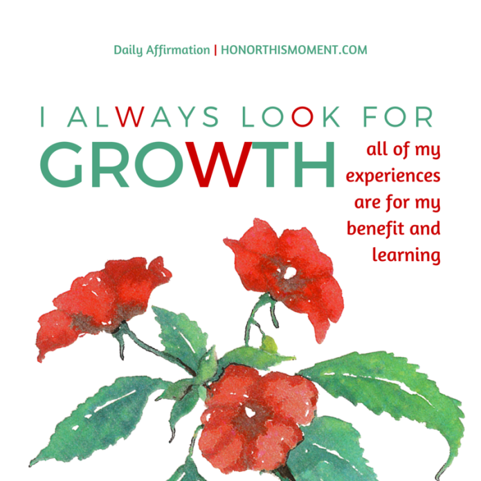 growth affirmation