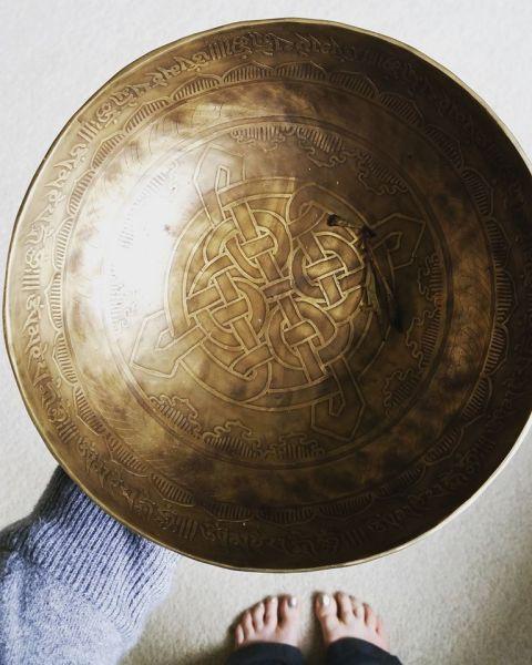 Serenity singing bowl